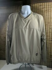 FootJoy Fj Golf Jacket Shirt Vneck Pullover Medium V Neck Long Sleeve M