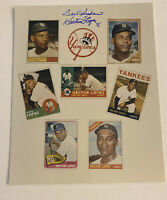 HECTOR LOPEZ SIGNED PHOTO 8x10 GTP AUTOGRAPH CARD COLLAGE NEW YORK YANKEES
