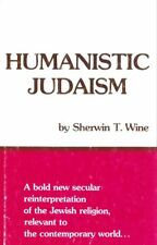 HUMANISTIC JUDAISM BY SHERWIN T. WINE HARDCOVER 1978 EDITION FREE SHIPPING!