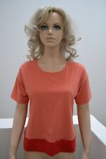 Wolford Colora Shirt cantalope/geradine Ombre Small