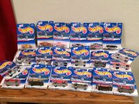 HOT WHEELS LOT OF 20 ASSORTED CARS FROM 2000 FIRST EDITION  & 1999 SNACK TIME
