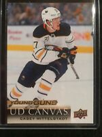 2018-19 Upper Deck Casey Mittelstadt RC Young Guns Canvas Buffalo Sabres SHARP