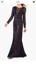 BCBG Max Azria Veira Lace Gown - Size 4
