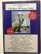 NEW The Best of Ernest Tubb From his TV Series DVD 21 Songs Texas Troubadour