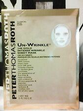 Peter Thomas Roth Un-Wrinkle 24K Gold Intense Wrinkle Sheet Mask (1MASK) NEW!!
