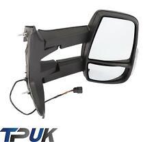 Ford Transit Custom 2012-2019 Negro Espejo De Puerta De Ala Manual Derecho controladores secundarios