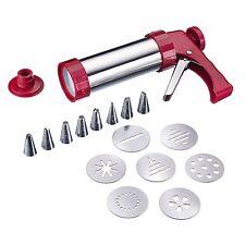 Westmark Germany Multipurpose Stainless Steel Cookie Press and Piping Gun Kit