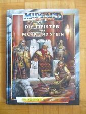 Midgard Die Meister von Feuer und Stein (Zwergen Quellenband) 4. Edition