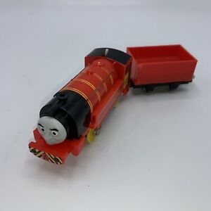 Thomas & Friends Trackmaster Motorized Train Victor Engine W/ Red Car Tested!