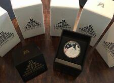 070707 Chichen Itzá Templos de Los Guerreros 2oz Silver Proof Coin BOX CASE COA