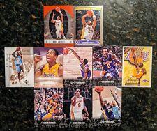 Kobe Bryant - Topps Chrome - Finest - Panini - Skybox Auto - Hoops 10 Card Lot