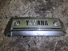 1986 Yamaha Virago XV 700 XV700 Horn Triple Clamp Cover Trim Fork Emblem Forks
