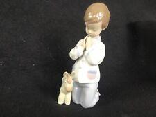 Lladro Figurine, 6582 Bless Us All, Boy praying