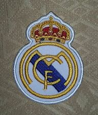 Real Madrid FC Football/ Soccer Club Embroidered Iron-on Badge/ Patch/ Logo