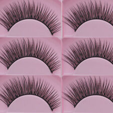5 Pairs Natural Cross Eye Lashes Extension Makeup Long False Eyelashes s/#.