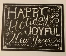 Happy Holidays and a joyful New Year to you & yours