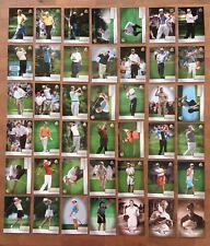04 Upper Deck SP Signature Golf 42 Card Base Set Lot Tiger Woods Nicklaus Palmer