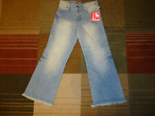 64170b533 Sanrio Hello Kitty Girls Distressed Denim Jeans Pants Size Small 6-6X NWT