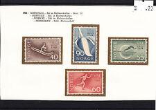 (22) Campionati Mondiali Sci a Holmenkollen -Norvegia 1966 quattro Valori
