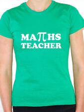 MATHS TEACHER - School / PI Sign / Teaching / Education Themed Womens T-Shirt
