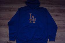 LOS ANGELES DODGERS NEW MLB TEAM LOGO HOODED SWEATSHIRT