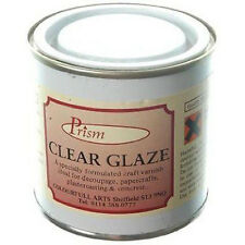 Prism Glaze - 1 Litre Tin - Gloss Varnish Ideal for Decoupage, Concrete, Plaster
