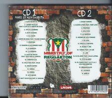 2 Cd Ministry of Reggaeton Vol 1 NEUF sous cellophane