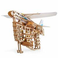 UGEARS Flugzeugstarter mechanische Bausatz Modell