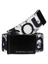 DC Shoes Mens Cinturón Chinook Tx Blanco Tormenta Impresión. las correas Jeans Correa 7S/20/WCQ1
