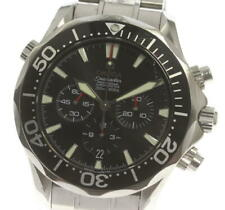 OMEGA Seamaster300 2594.52 Chronograph black Dial Automatic Men's Watch_558729