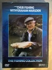 CHUB FISHING with Graham Marsden , sealed  DVD , all PAL regions .