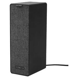 IKEA SONOS SYMFONISK WiFi bookshelf speaker with wall bracket - black