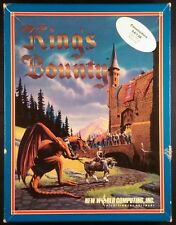 King's Bounty (Commodore 64, 1990) Complete in Box
