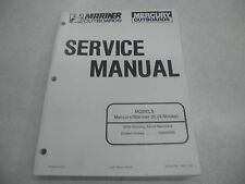 Mercury Mariner 1997 25 (4-Stroke)  Service Manual