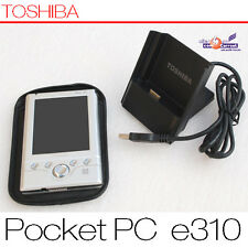 PDA Toshiba Pocket PC E310 Windows Mobile MP3 Touch Screen Docking Station