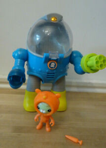 Octonauts Tweaks Octomax OCTO MAX SUIT with lights, sounds & carrot shooter