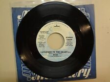 "RUSH: Closer To The Heart 2:52-Madrigal 2:35-U.S. 7"" 1977 Mercury 73958 DJ Label"