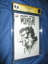 WOLVERINE #1 CGC 9.6 SS Original Art Sketch by Neal Adams (UNCANNY X-MEN)