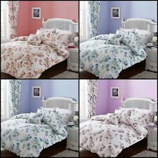 Lydia Floral Printed Duvet Quilt Covers - SINGLE, DOUBLE, KING