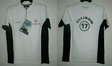 ORACLE BMW RACING ELLISON 17 White HENRI LLOYD ORIGINAL T Tee Shirt Men S NWT