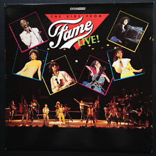 KIDS FROM FAME LIVE! UK Tour Soundtrack OST LP 1983 BBC Lori Singer Barry Fasman