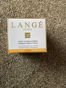 LANGE Paris Vit Vitamin C Extreme VITALITY Cream 50ml RRP £72 Brand New Sealed