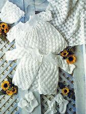 Layette ideal bebé prematuro o Muñeca Tejer patrón 12/18 Pulgadas por correo electrónico (11)