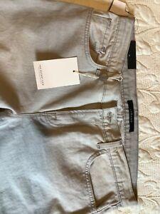 J Brand High Rise Jake Rockaway Grey Jeans S 29 The Outnet