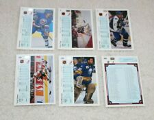1990-91 Upper Deck Series NHL Hockey Trading Card Complete Set 1-400 New*