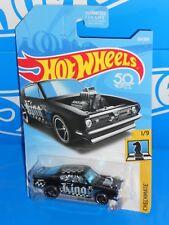 Hot Wheels 2018 Checkmate Series #261 King Kuda Black King