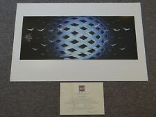 The Who Art Print TOMMY Lithograph Hand Signed Artist Edition #142/200