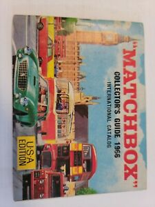 1966 Matchbox Collectors Guide International Catalogue U.S.A edition