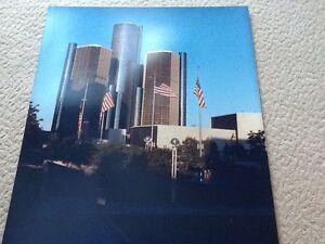 Detroit Skyline Photo 20 X 24 inches