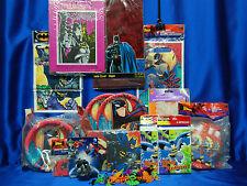 Batman Begins Party Set # 22 Batman Party Supplies Tablecloth Plates For 16